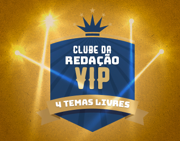 Clube da Redação Vip - 4 Temas Livres