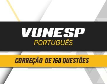 Correção de 150 Questões - Vunesp - Português