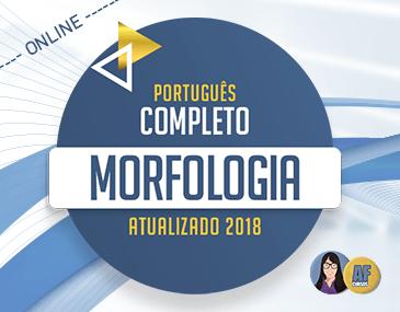 Português Completo 2018 - Morfologia