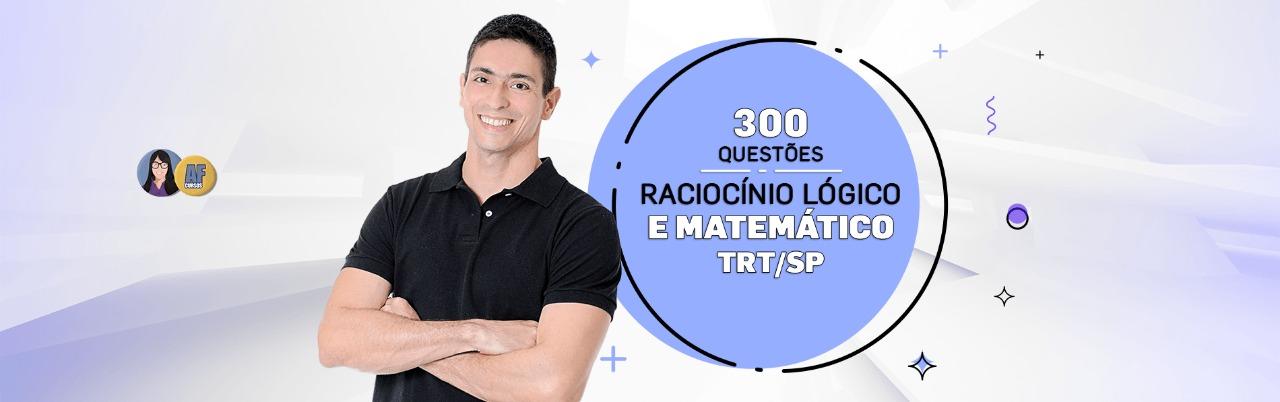 TRT-SP RLM 300 Questões