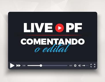 Analise do Edital PF - Português, Redação e Discursivas