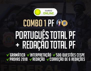 Combo PF - Português Total + Redação Total