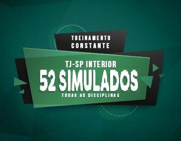Curso de Simulados - Treinamento Constante TJ Interior - Completo